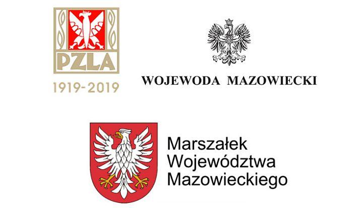 Loga patronów honorowych 40. Półmaratonu Wiązowskiego