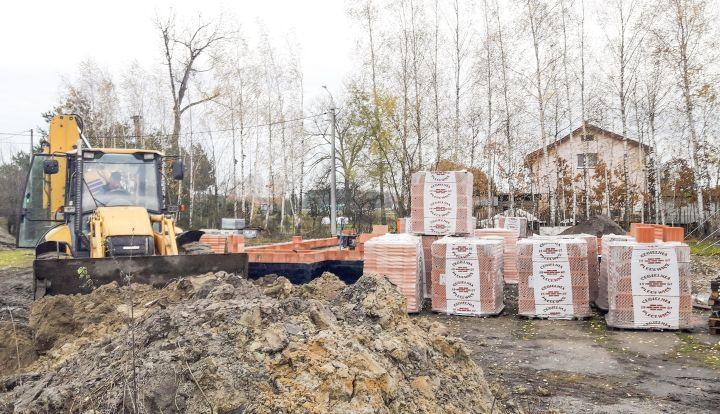 Budowa nowej świetlicy w Rzakcie. Powstały fundamenty