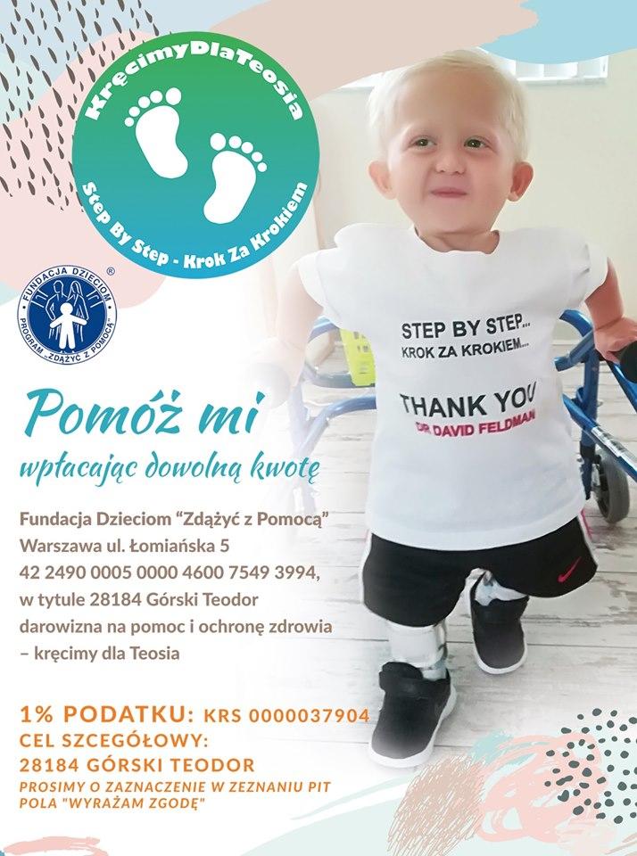 Plakat akcji Kręcimy dla Teosia