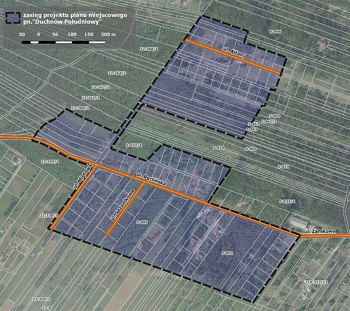 """Nowy projekt miejscowego plany """"Duchnów Południowy"""""""