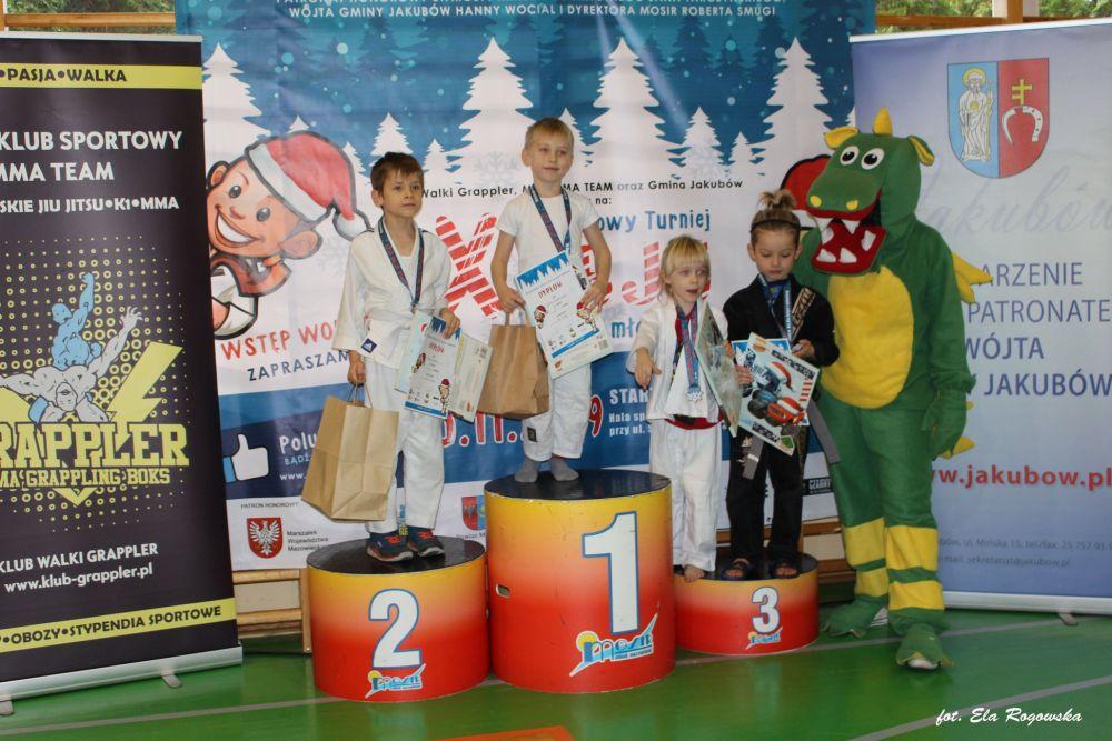 9 Gwiazdkowy Turniej w Brazylijskiego Jiu Jitsu dla dzieci