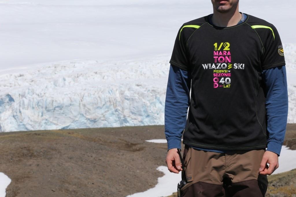 Radosław Dąbrowski, druh Ochotniczej Straży Pożarnej Malcanów, bada Antarktydę