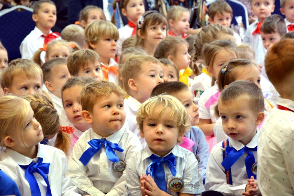 Uroczystość w przedszkolu w Pęclinie. Rocznica nadania imienia