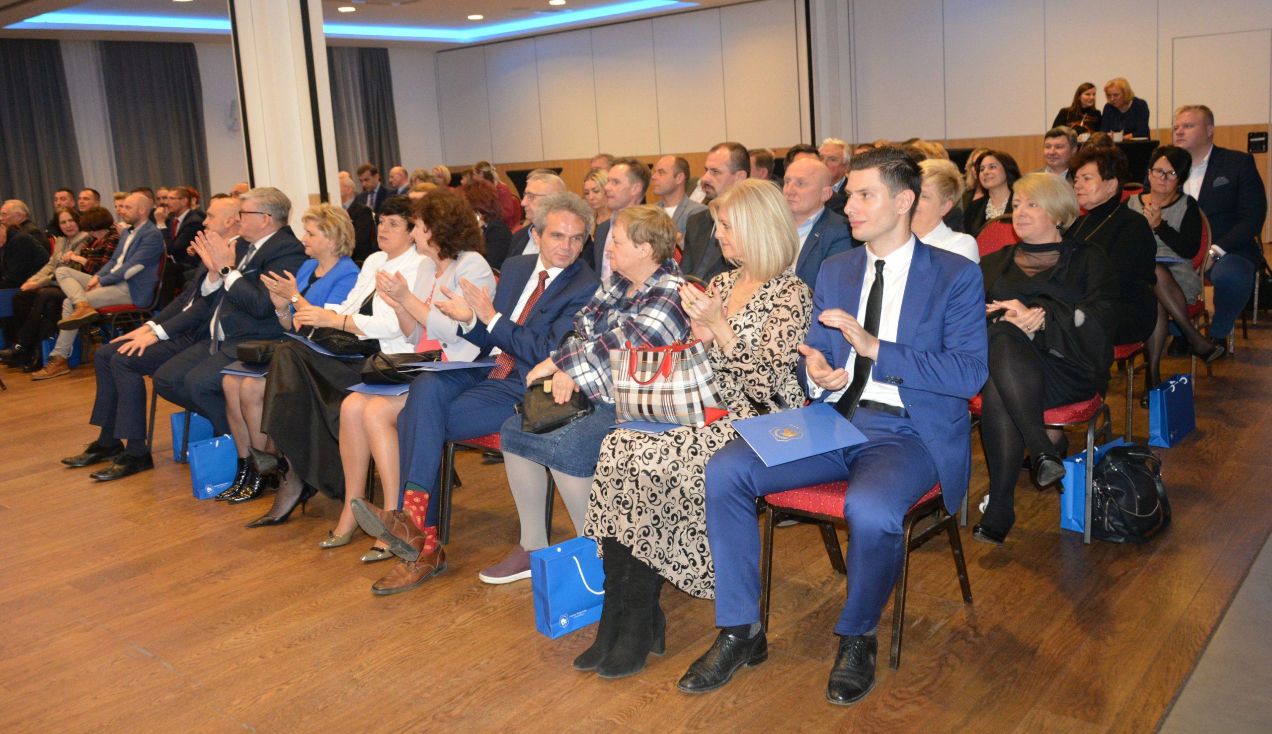 Goście z uwagą wysłuchali prezentacji