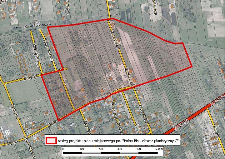 Projekt planu zagospodarowania przestrzennego Polna Bis
