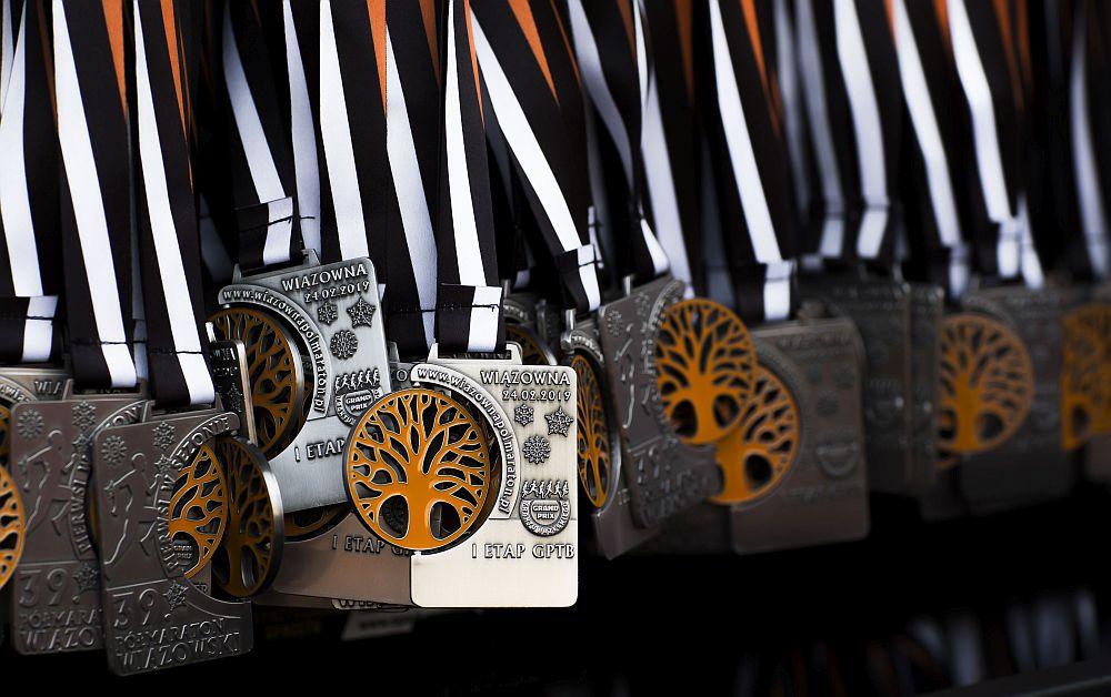 Medal 39. Półmaratonu Wiązowskiego
