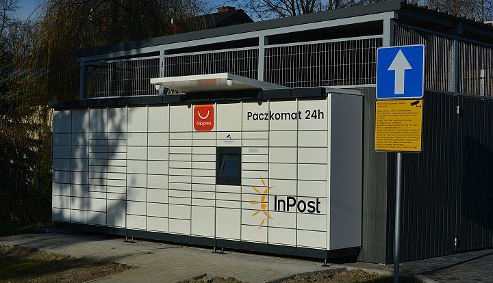 Nowy paczkomat firmy InPost w Wiązownie