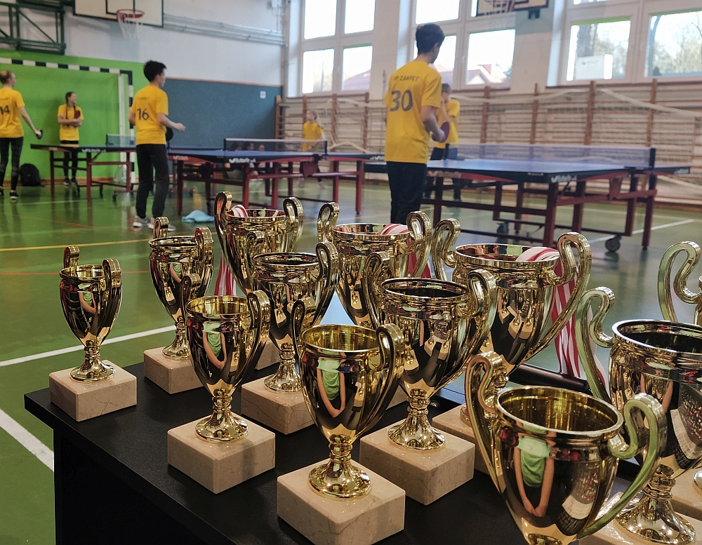 Indywidualne Mistrzostwa Gminy w tenisie stołowym 2020 r. Puchary