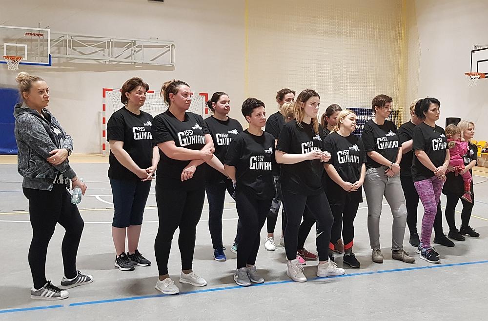 Charytatywny Weekend Sportowy w szkole w Gliniance