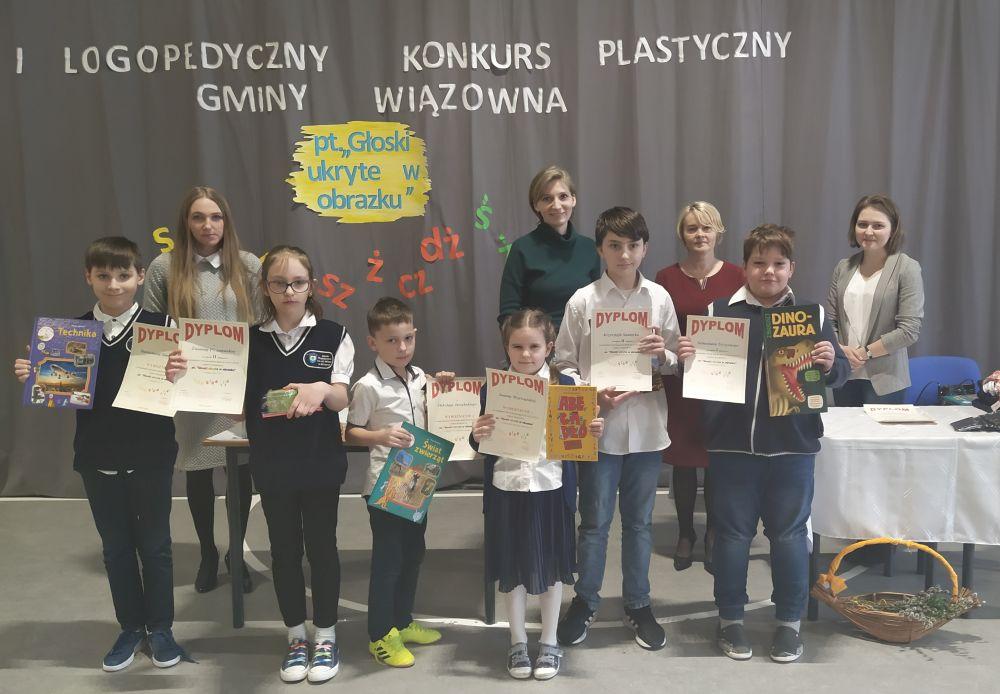 Finał Gminnego Konkursu Logopedycznego w Szkole Podstawowej w Gliniance