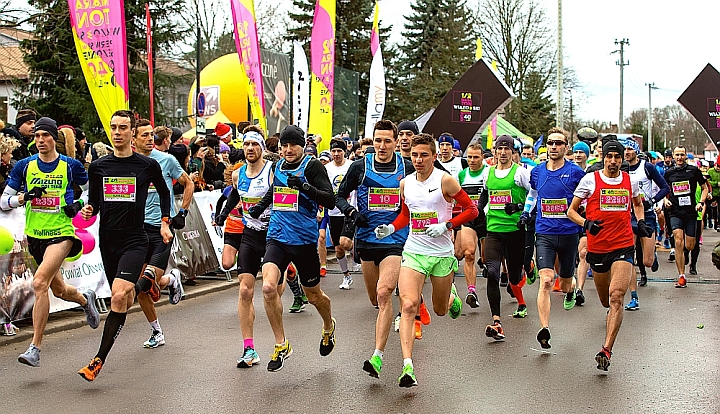Start 40. Półmaratonu Wiązowskiego