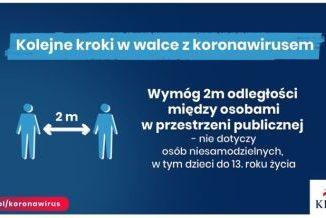 Plakat dotyczący walki z koronawirusem