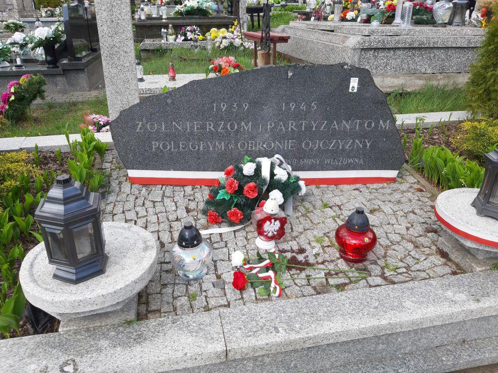 Grób poległych Polaków w Gminie Wiązowna