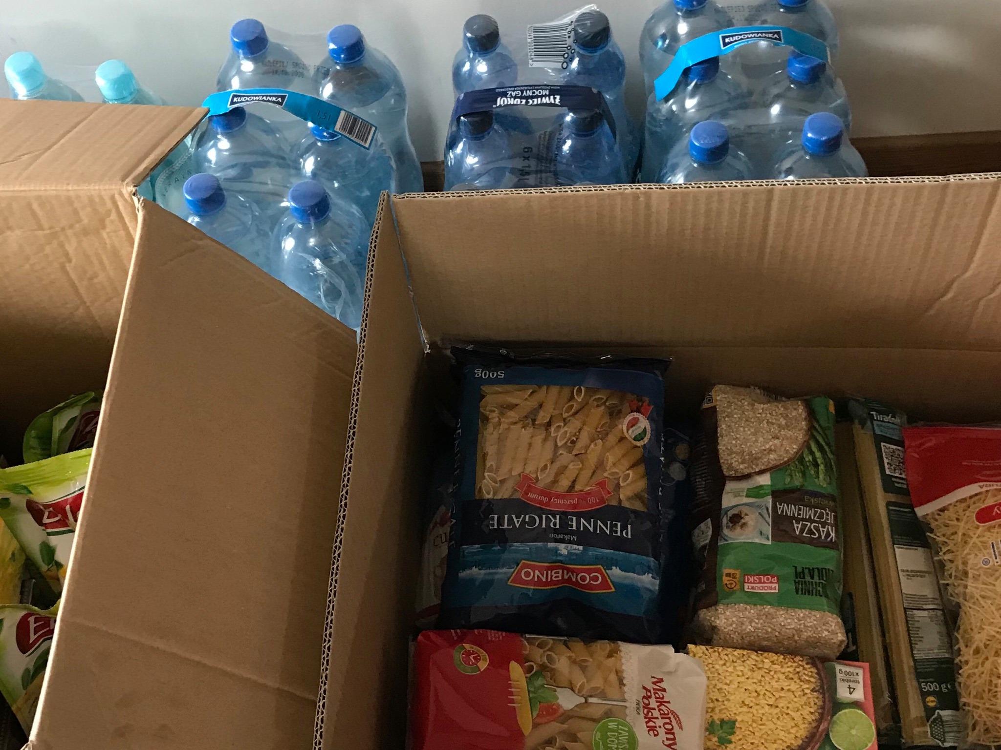 Zbiórka darów dla powodzian z Trzcinicy na Podkarpaciu