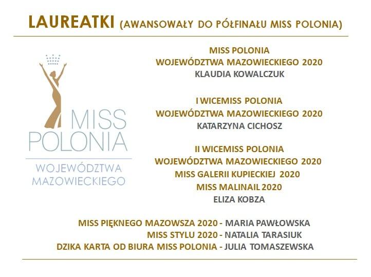 Nominowane do tytułu Miss Polonia