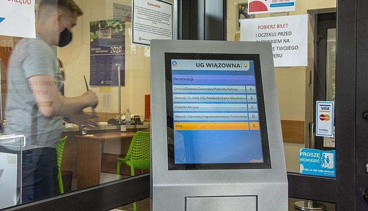 Biletomat działa w naszym urzędzie od końca września