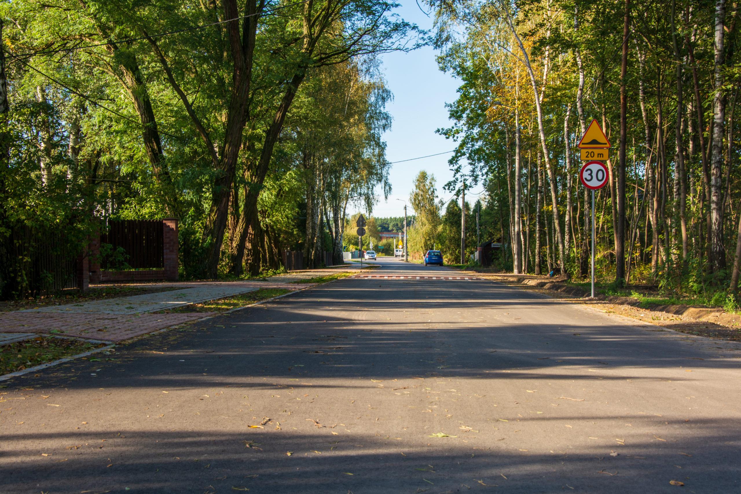 Ulice Polna i Brzozowa w Wiązownie mają nowe nawierzchnie