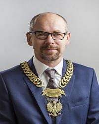 Przewodniczący Rady Gminy Wiązowna - Andrzej Cholewa