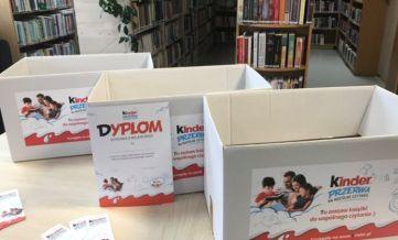 Przynieś przeczytane przez Twoje dzieci książki do naszych bibliotek w Wiązownie, Gliniance i Duchnowie.