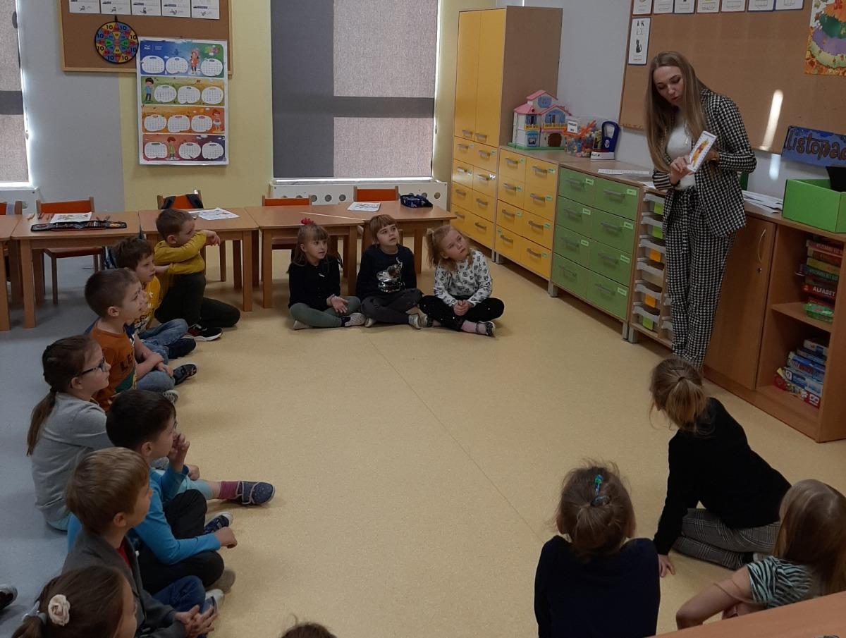 Dzień Pluszowego Misia w Szkole Podstawowej w Gliniance