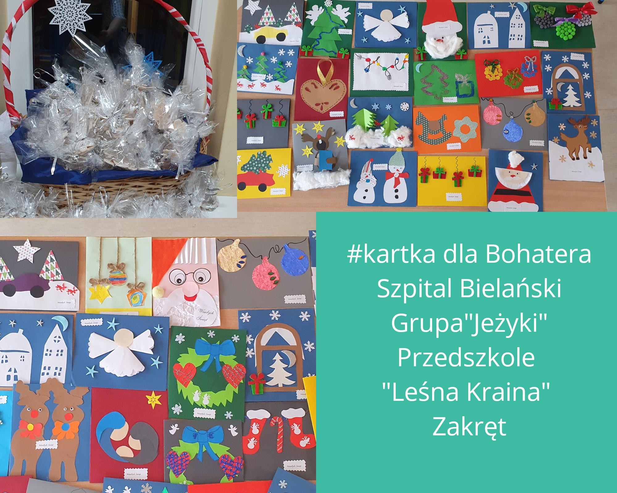 """Przedszkolaki z """"Leśnej Krainy"""" w Zakręcie przed świętami wzięły udział w kilku akcjach charytatywnych"""