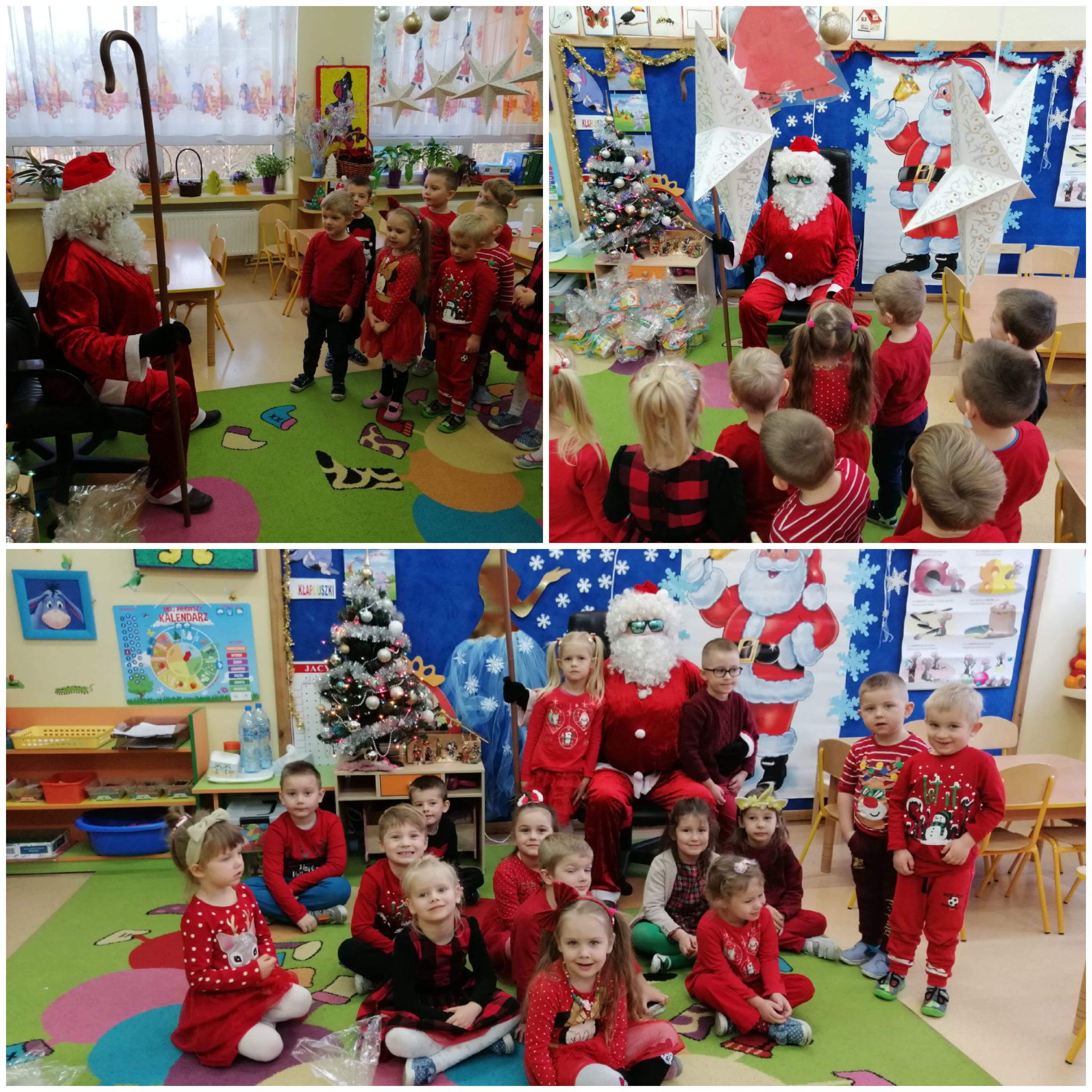"""Przedszkole ,,Pod Stumilowym Lasem"""" w Pęclinie włączyło się w akcję """"Razem na Święta"""""""