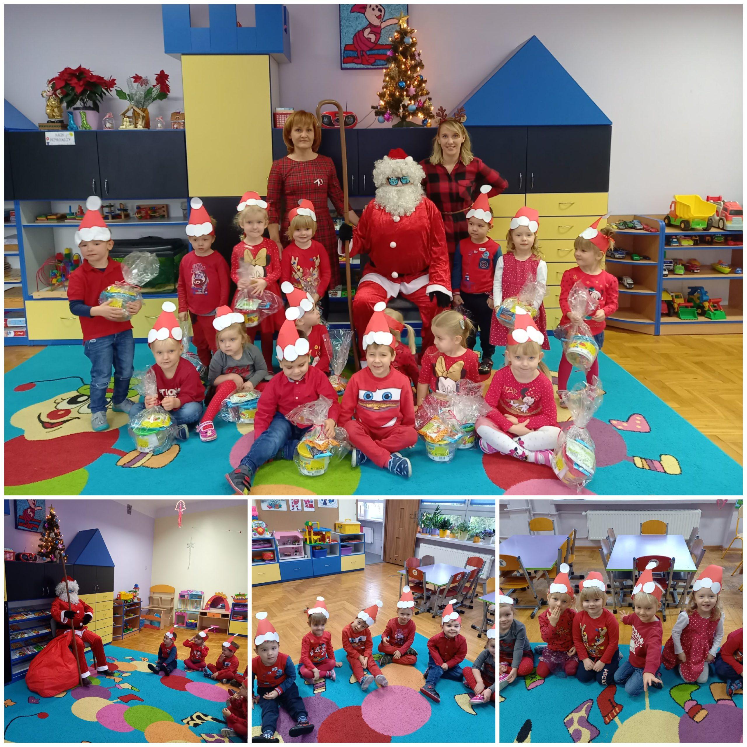 """Przedszkole ,,Pod Stumilowym Lasem"""" w Pęclinie włączyło się w akcję """"Razem na Święta"""" (Foto: przedszkole)"""
