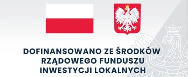 Logo Rządowego Funduszy Inwestycji Lokalnych