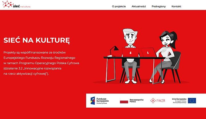 """Biblioteka w Wiązownie bierze udział w projekcie """"Sieć na kulturę w podregionie warszawskim wschodnim"""""""