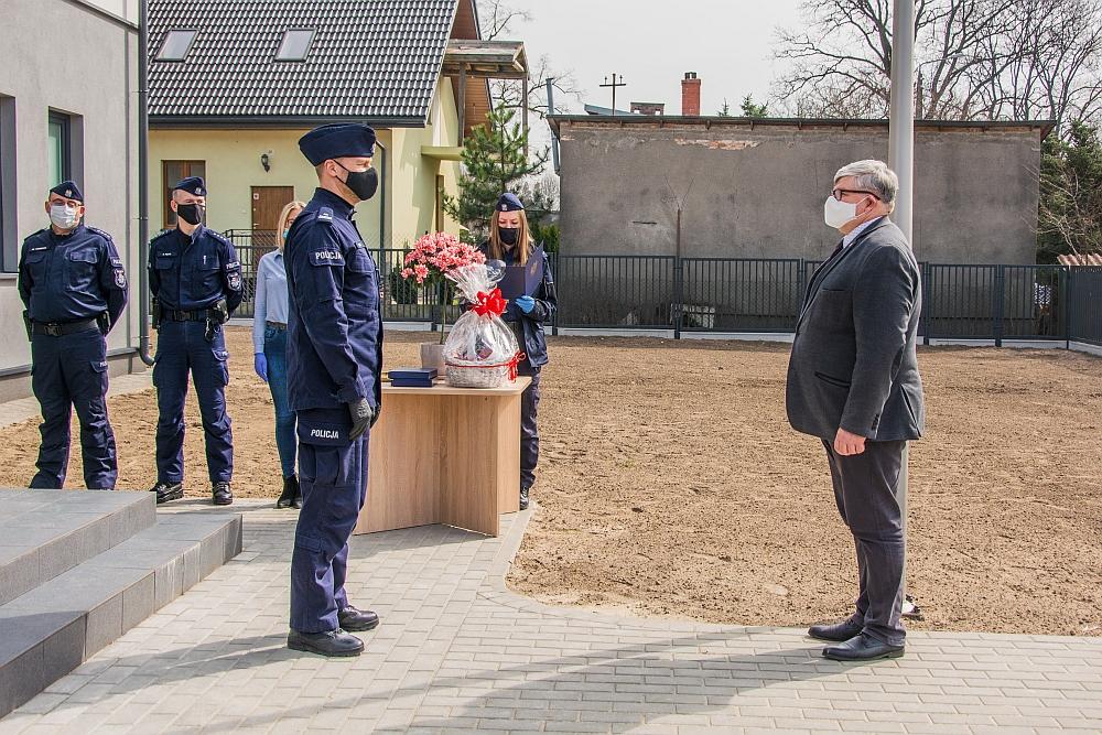 Otwarcie nowego Posterunku Policji w Wiązownie