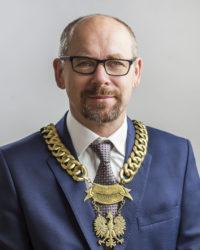 Przewodniczący Rady Gminy Wiązowna Andrzej Cholewa