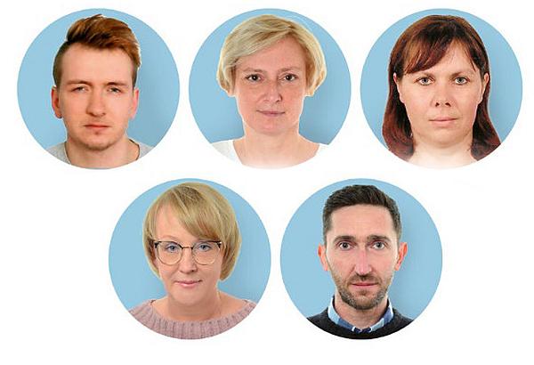 Rachmistrze: Krzysztof Lisowski, Beata Pietrzykowska, Bożena Przykaza, Beata Rulka oraz Łukasz Sikora.
