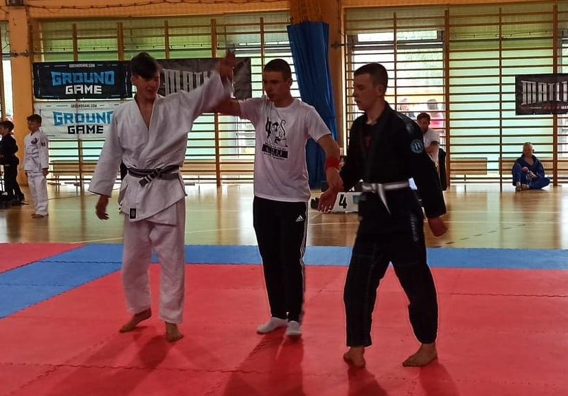 UKS Orły Zakręt na 4 Mistrzostwach Polski dzieci i młodzieży w Brazylijskim Jiu Jitsu w Mińsku Mazowieckim