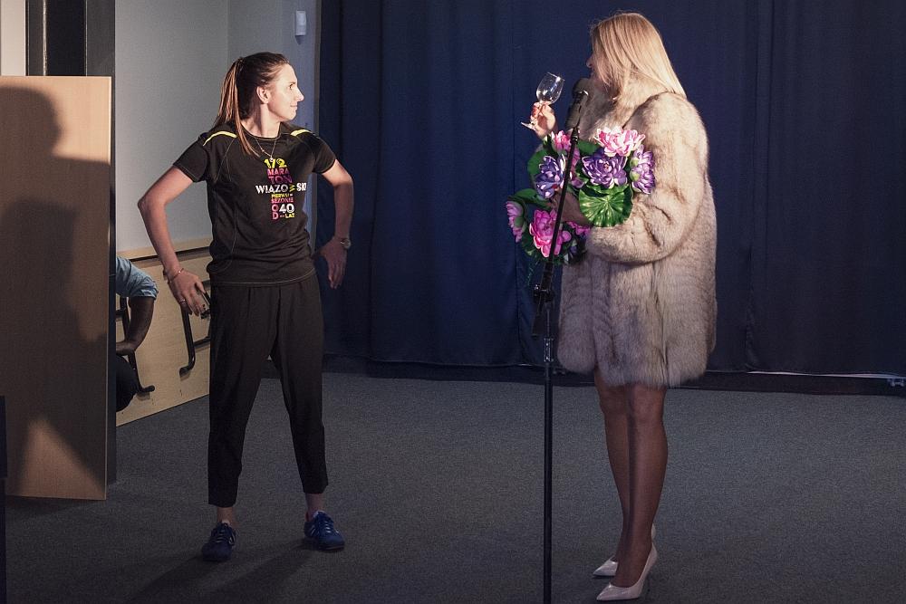 """Próba Kabaretu """"Na chwilę"""", który będzie można zobaczyć podczas koncertu charytatywnego dla Natalki"""