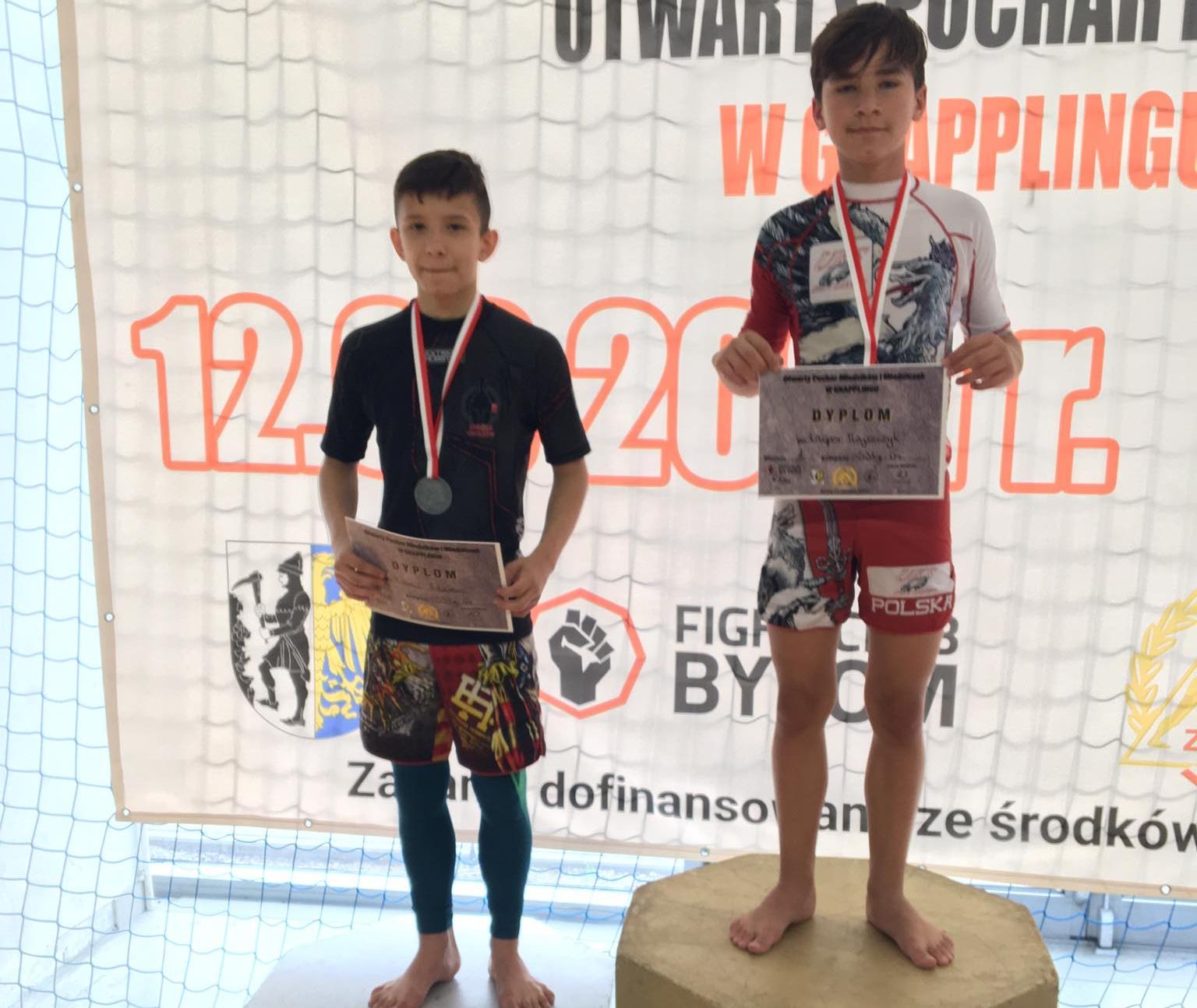UKS Orły Zakręt na podium podczas mistrzostw w grapplingu organizowanych pod Polskim Związkiem Zapaśniczym w Bytomiu