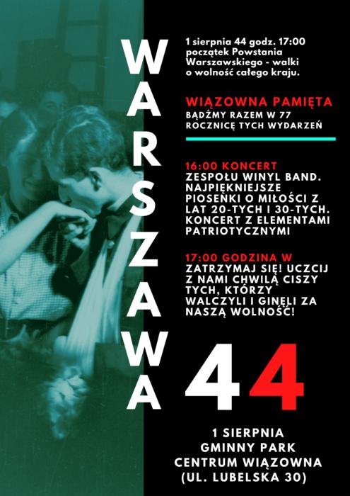 Koncert z okazji rocznicy Powstania Warszawskiego