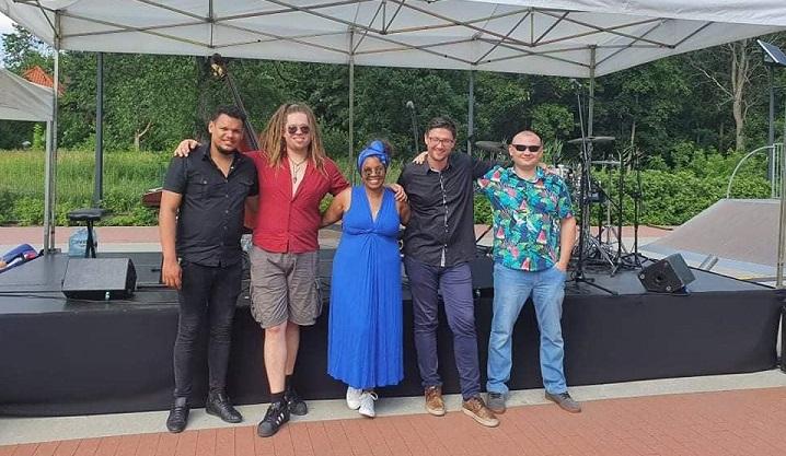 Zespół The Cuban Latin Jazz wystąpił w Gminnym Parku Centrum w Wiązownie
