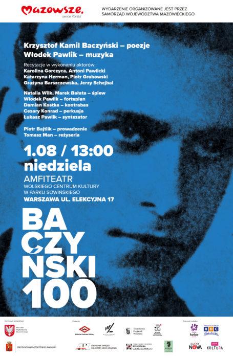"""Koncert """"Baczyński 100"""""""