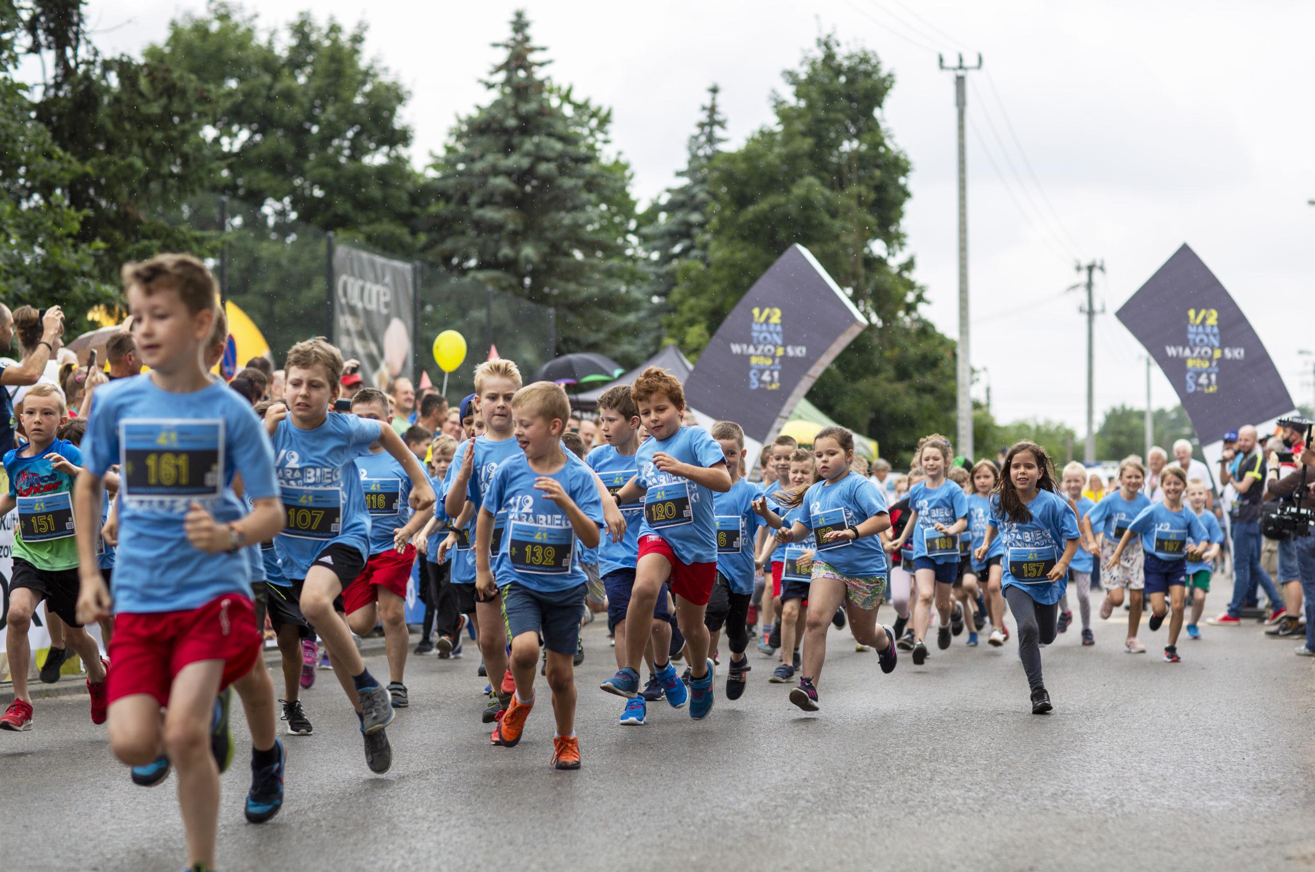 Bieg dziecięcy na 300 m