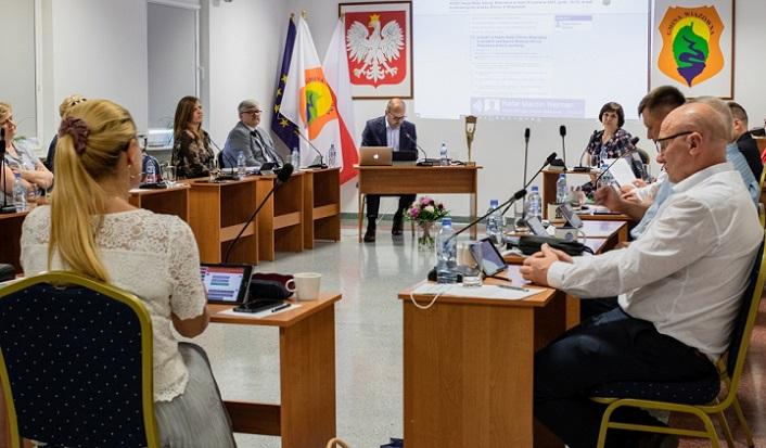 Sesja Rady Gminy Wiązowna