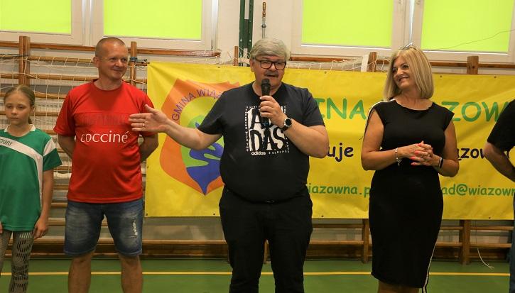 Wójt Gminy Wiązowna Janusz Budny