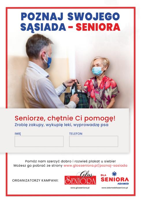 Spot ogólnopolskiej kampanii społecznej Głosu Seniora i Adamed dla Seniora