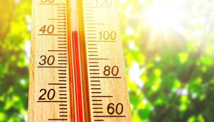 Termometr z temepraturą dochodzącą do 40 st. C