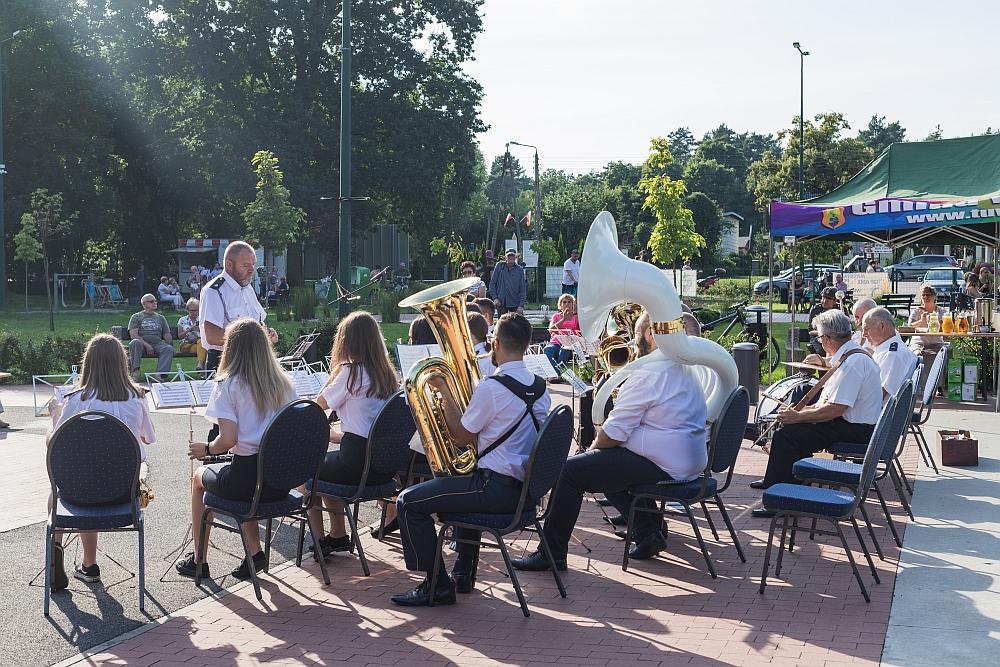 Dzień Wojska Polskiego w Gminie Wiązowna. Koncert Orkiestry Dętej z Trąbek