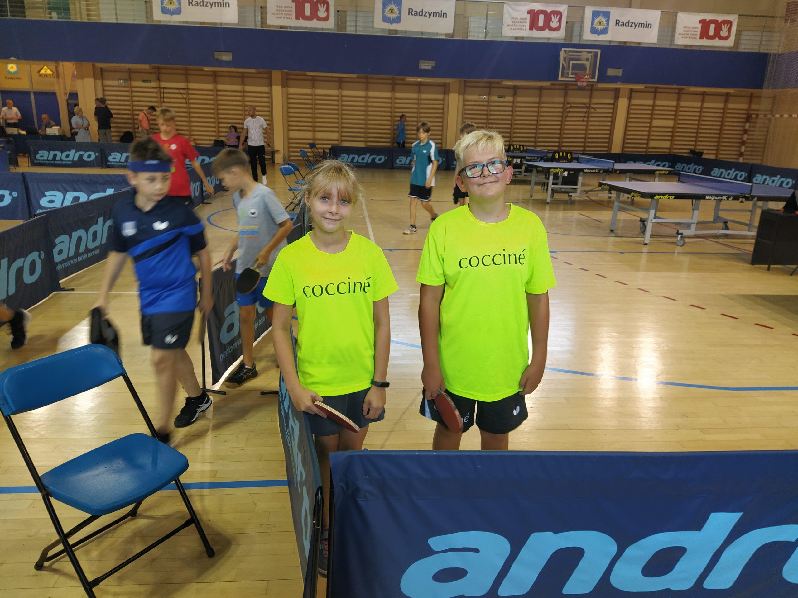 Reprezentanci GKTS Wiązowna, Maja Grzybowska i Maksymilian Przybysz, wzięli udział w I Turnieju Grand Prix Mazowsza Młodzików