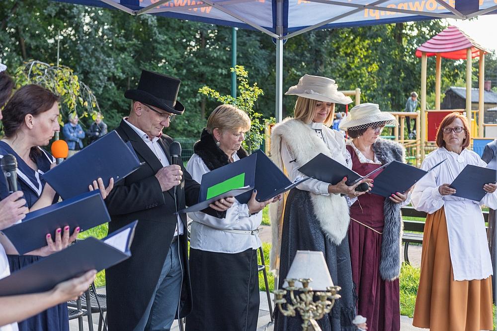 Narodowe Czytanie 2021 w Gminnym Parku Centrum w Wiązownie