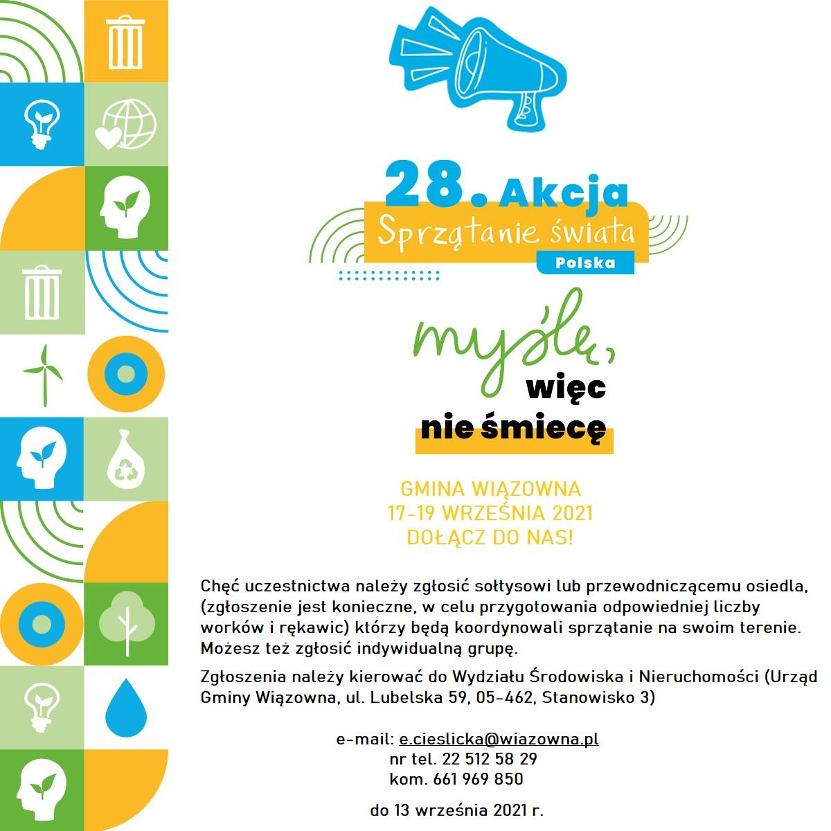 Akcja Sprzątanie Świata. 17-19 września 2021 r.