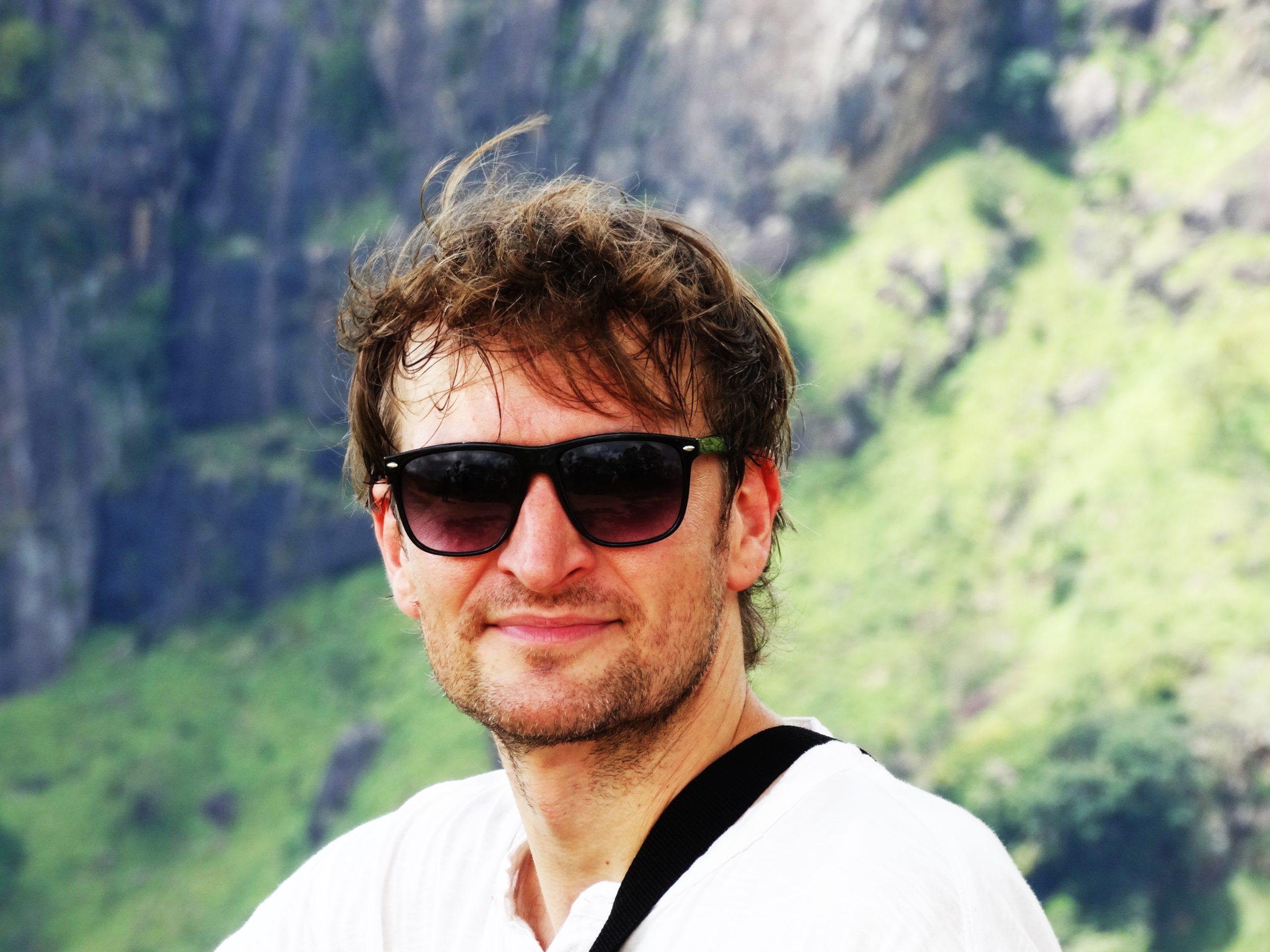 Podróżnik i dziennikarz Michał Szulim