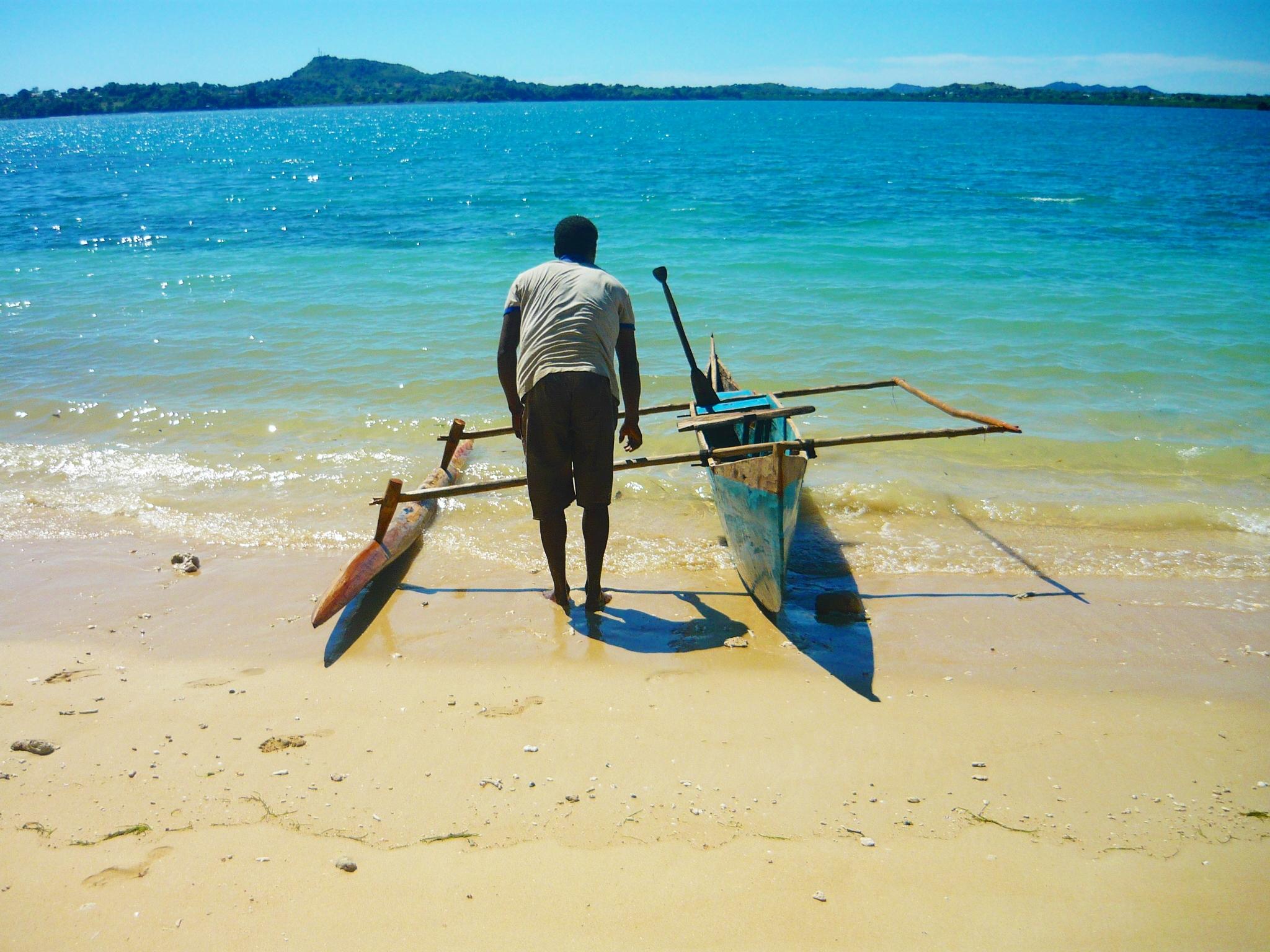 Rybak z Madagaskaru
